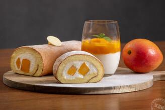 芒果閃耀金色光芒 各主廚端出特色甜點