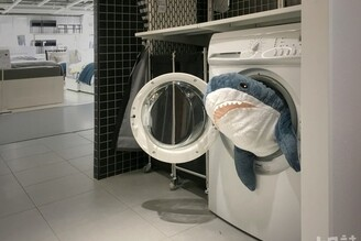 IKEA鯊很大 鯊魚悠悠卡、鯊魚口罩大放送